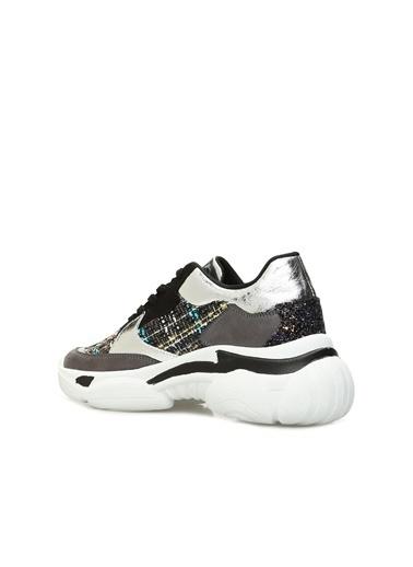 Divarese Divarese 5023879 Gri Siyah Kadın Sneaker Kadın Sneakers Gri